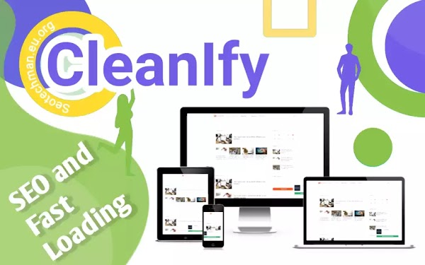 [Free Download] Cleanify, Template Blogger Responsif, Fast Loading, dan SEO Friendly