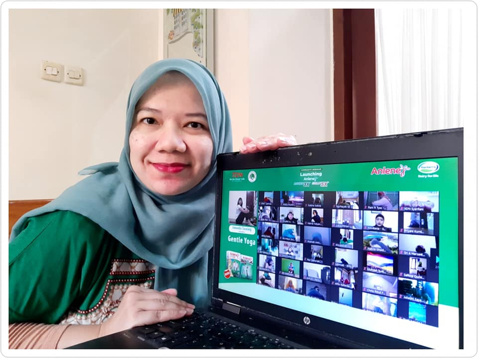 Self Care Bersama Anlene Tubuh Aktif Bergerak Kini dan Nanti Jadi Atlet di Rumah Nurul Sufitri Travel Lifestyle Blog