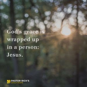 How to Receive the Grace of God by Rick Warren