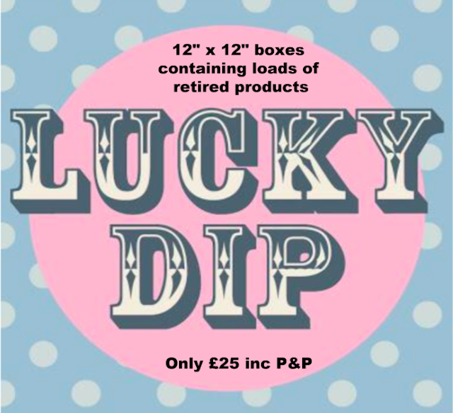 Paper Daisy crafting lucky dip boxes