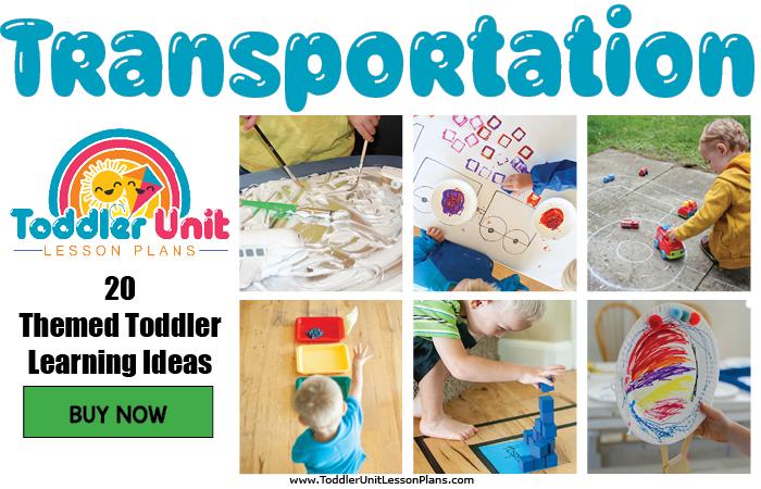 Toddler lesson plans - transportation