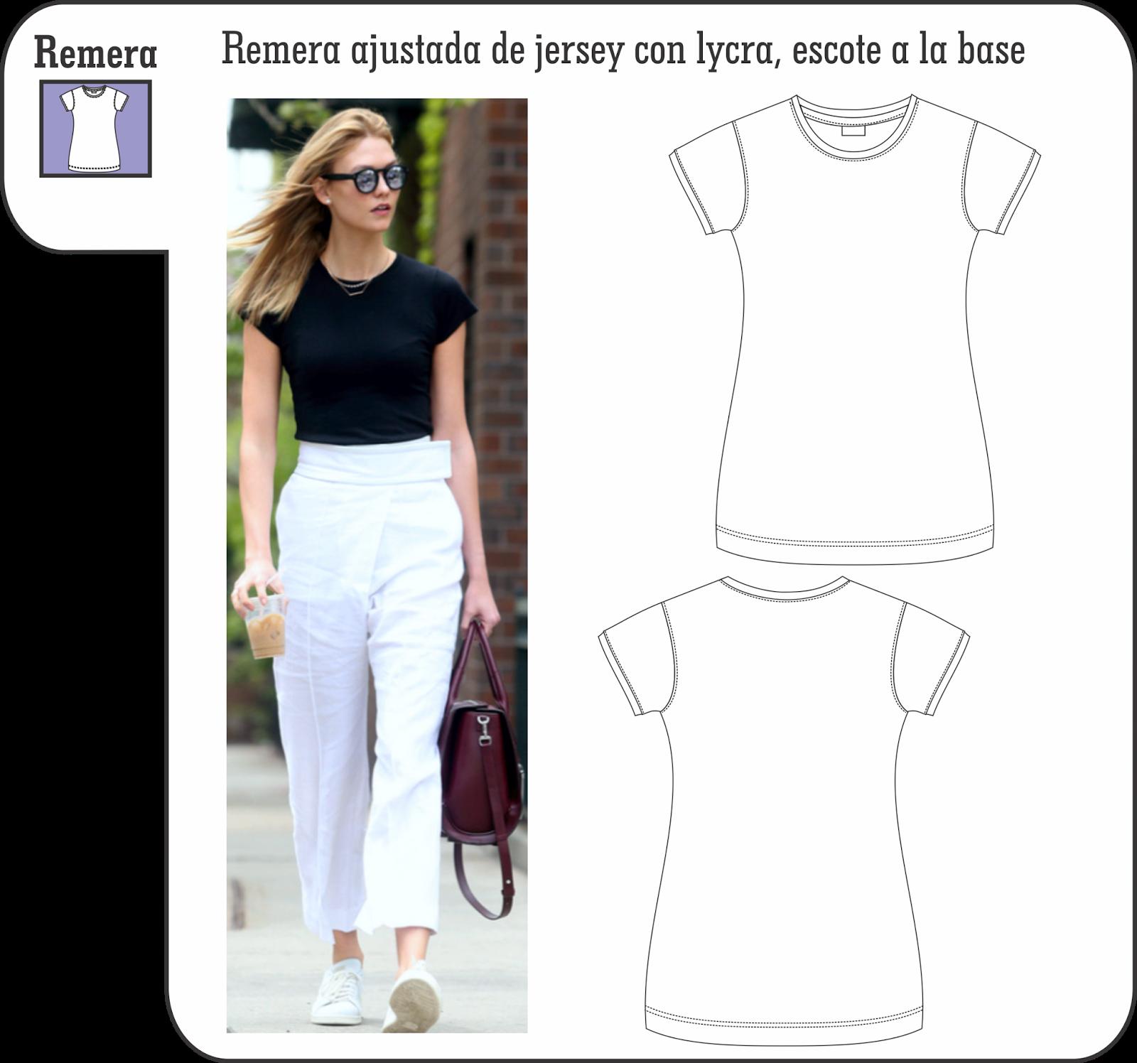 Moda y Diseño: Confección de prendas simples, punto de partida de ...