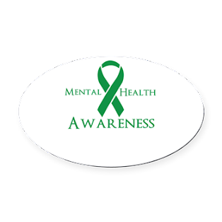 Mental Health Awareness Oval Car Magnet $5.99 - $7.99