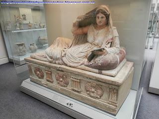 Sarcófago etrusco en el British Museum