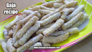 Gaja recipe-Bangla goja-Dali gaja-Odisha special gaja recipe