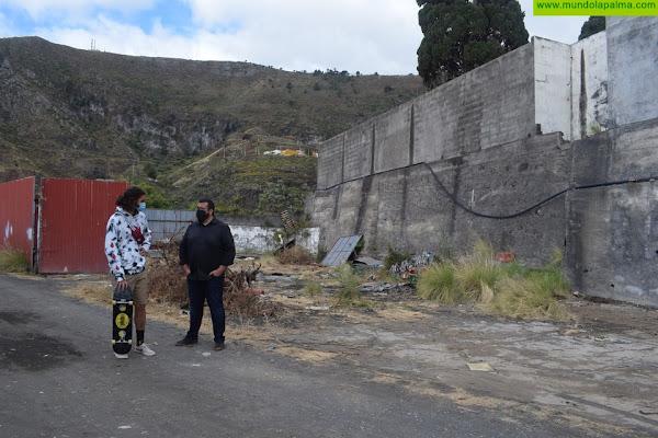 Santa Cruz de La Palma contará en verano con un espacio para el futuro skatepark