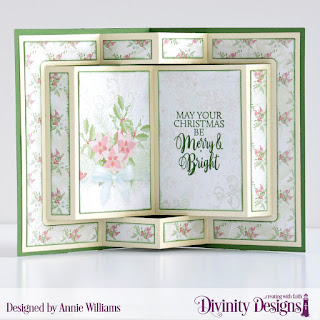 Stamp Set: True Light: Custom Dies: Book Fold Card with Layers, Christmas Lights, Paper Collection: Christmas 2018