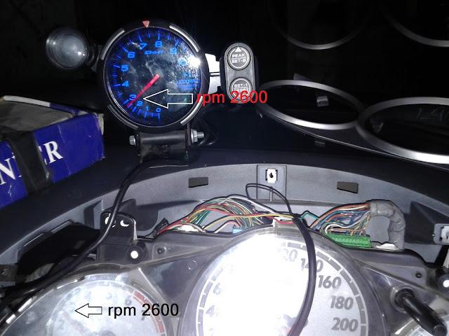 Cara pasang tacho rpm variasi mobil
