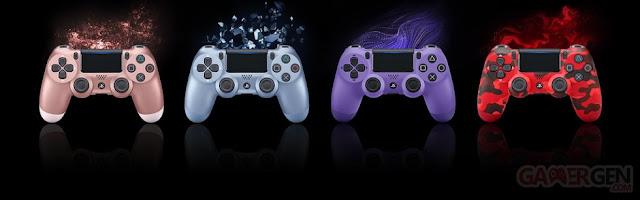 سوني تكشف عن نسخ جديدة من يد تحكم جهاز PS4 قادمة خلال الأشهر المقبلة بألوان رائعة جداً