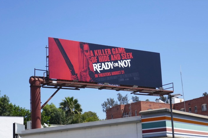 Ready or Not film billboard