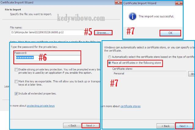 Cara Install Sertifikat Elektronik e-Faktur di Google Chrome