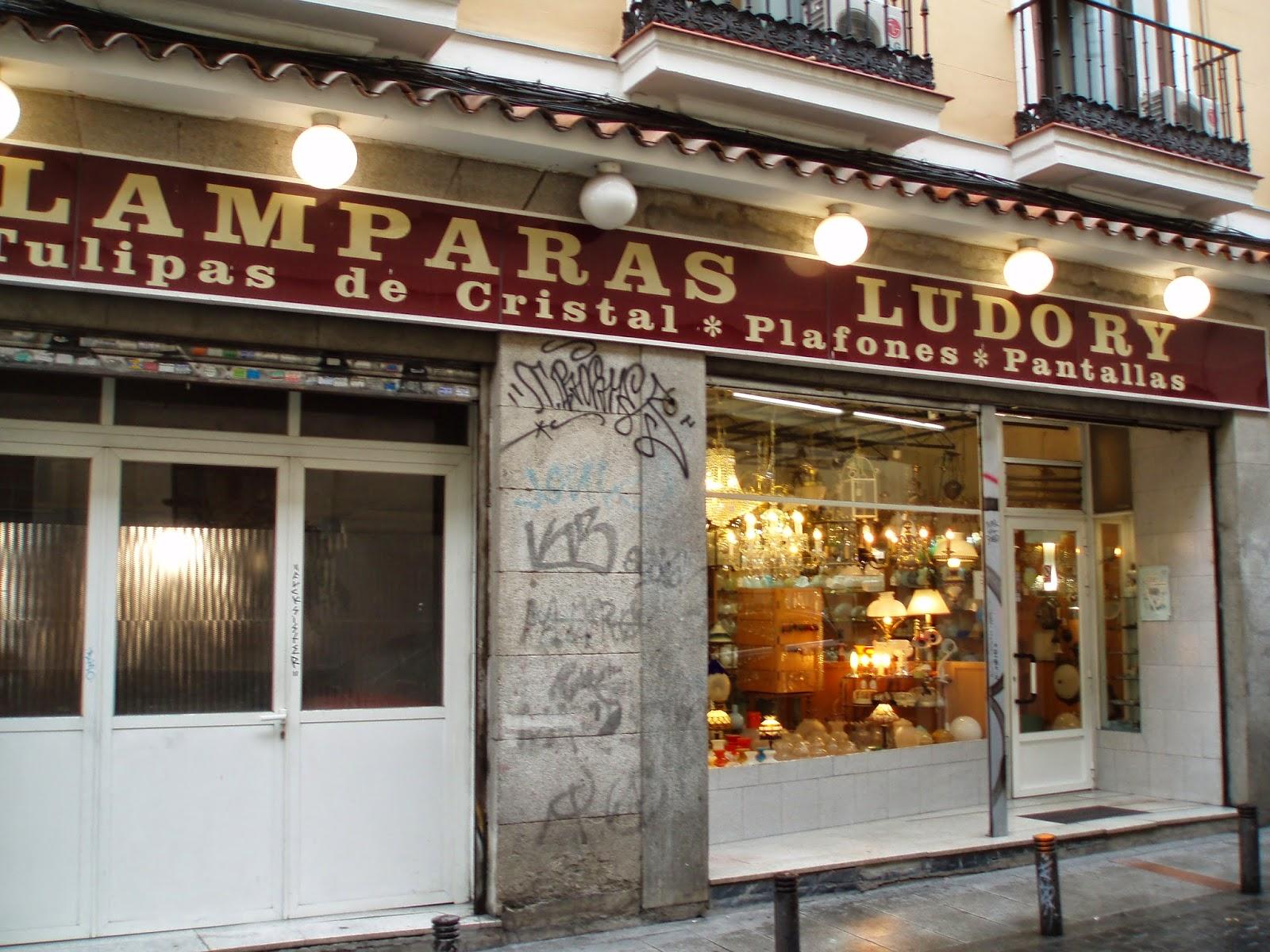 Tienda Lamparas Madrid La Laborteca Febrero 2013
