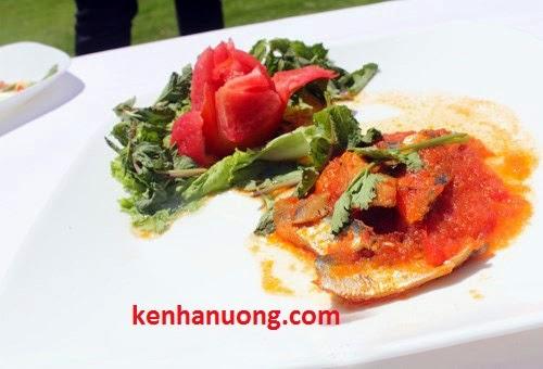 Món cá trích kho cà chua kiểu Phan Thiết