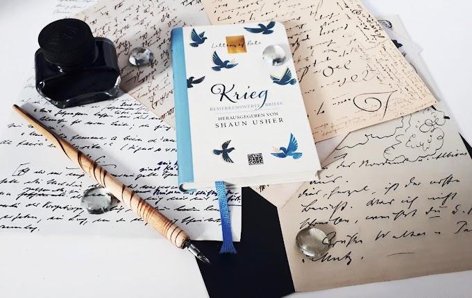 [Rezension] Letters of Note: Krieg von Shaun Usher (Hrsg.)
