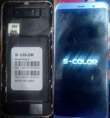 S-Color Note 8 Flash File