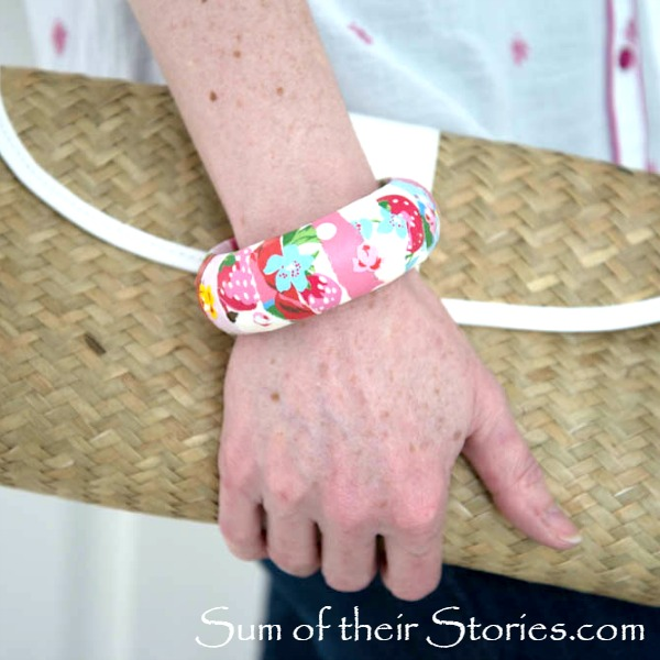 Cath Kidston Notepaper Bangle makeover