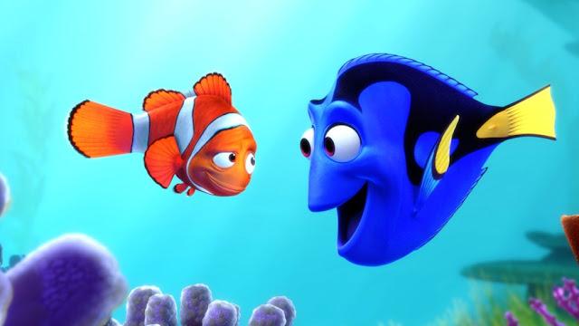 Gambar animasi Ikan Nemo