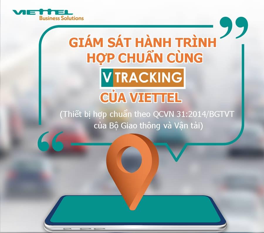 Thiết bị giám sát hành trình của Viettel đáp ứng QCVN 31:2014/BGTVT