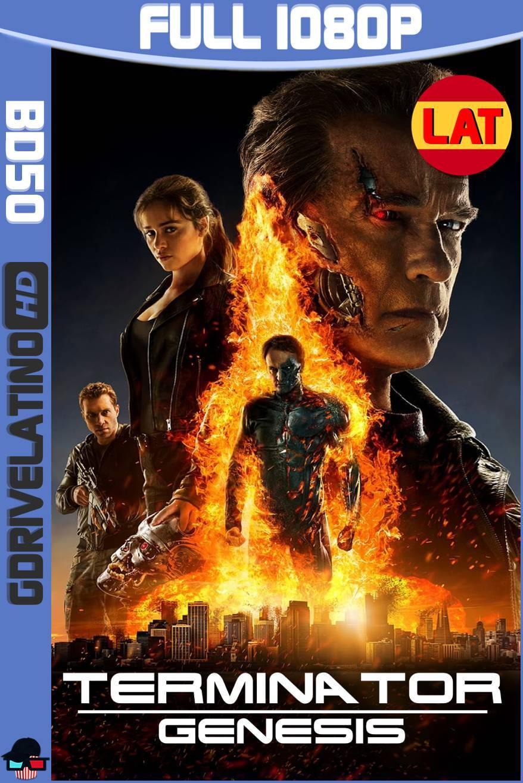 Terminator Génesis (2015) BD50 1080p Latino-Ingles ISO