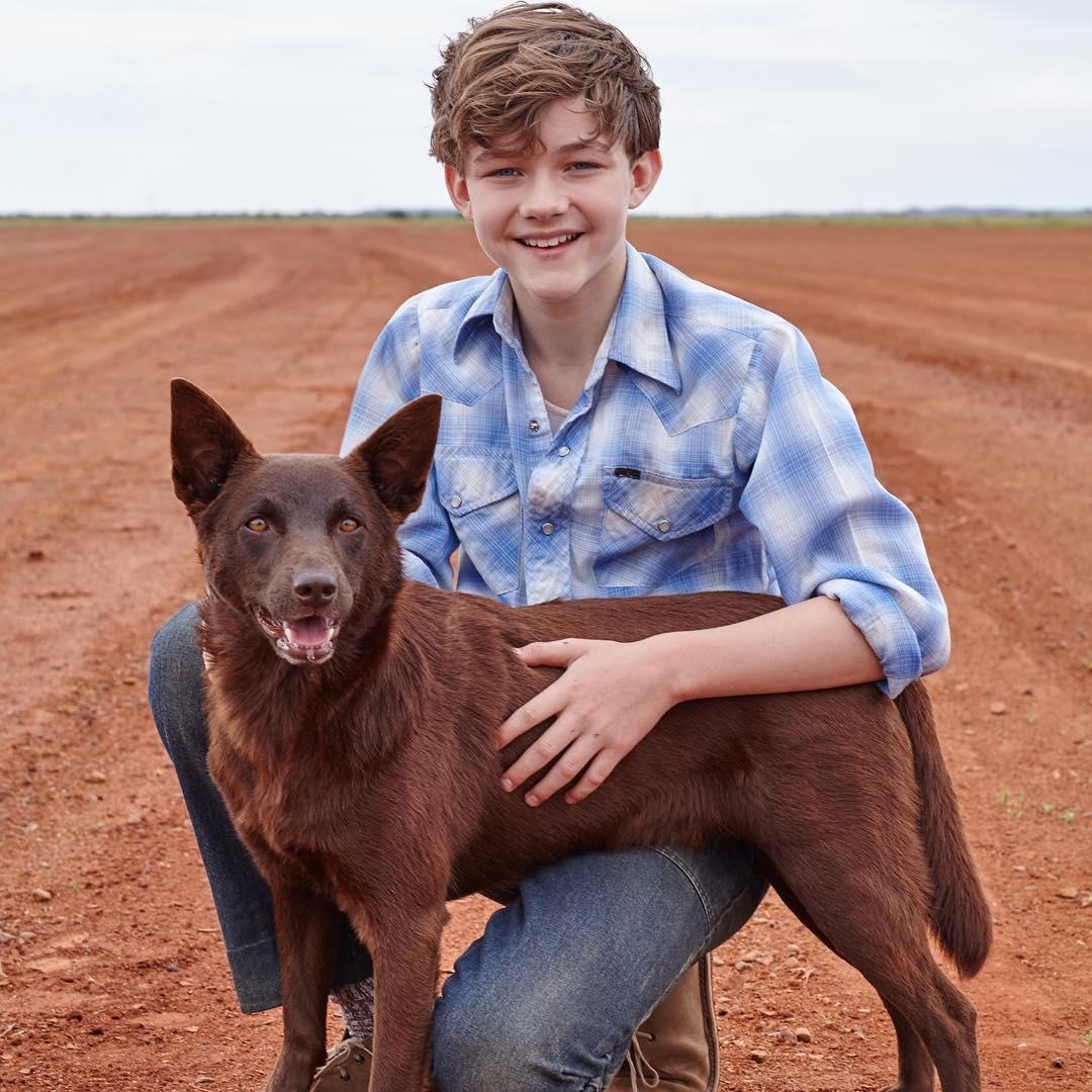 fd67f724e Levi Miller for the Movie Red Dog: True Blue, 2016 | BlueisKewl