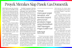 Merakes Project Ready to Supply Domestic Gas
