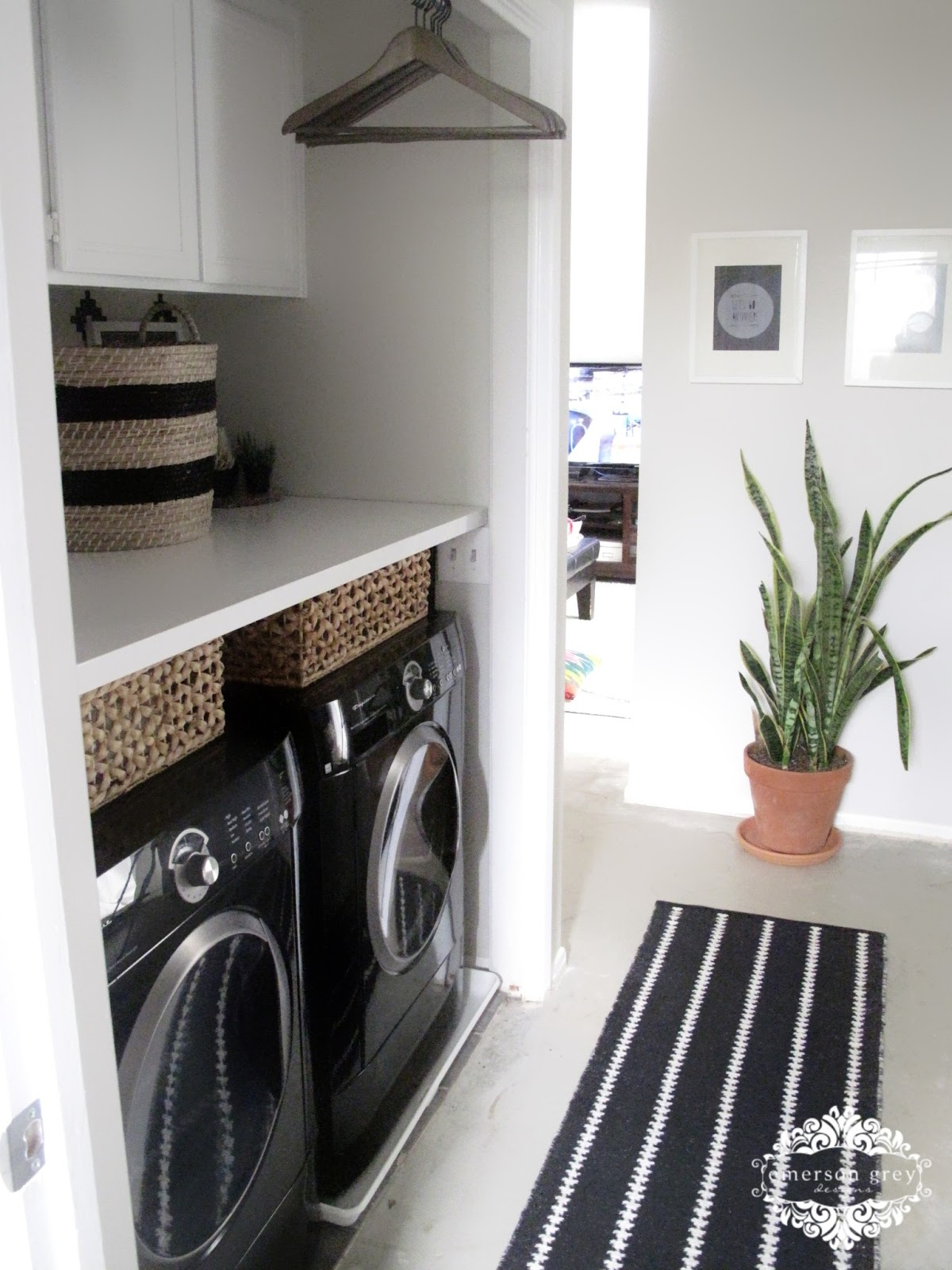 Laundry Room Home: Our New Home {part 6/ Laundry Room Redo}