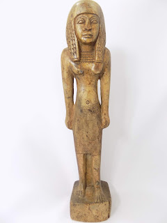 Stone Egyptian Sculpture front view