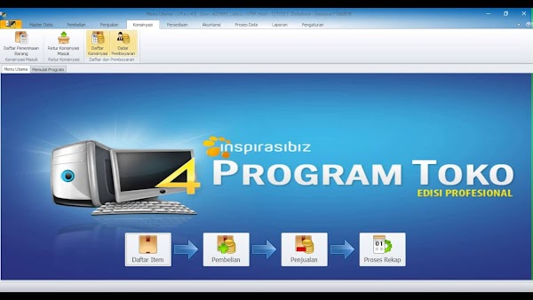 Inspirasibiz Program Toko iPOS 4.0 Edisi Profesional Full Version