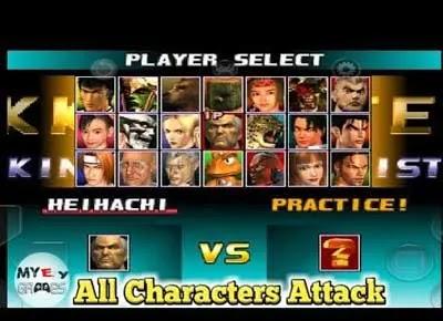شرح تحميل لعبة تيكن Tekken 3 مفاجاة لاول مره كل الشخصيات