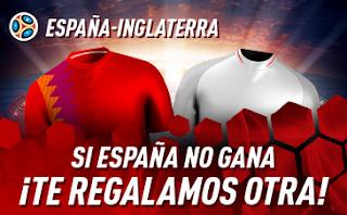 sportium Promo España vs Inglaterra 15 octubre