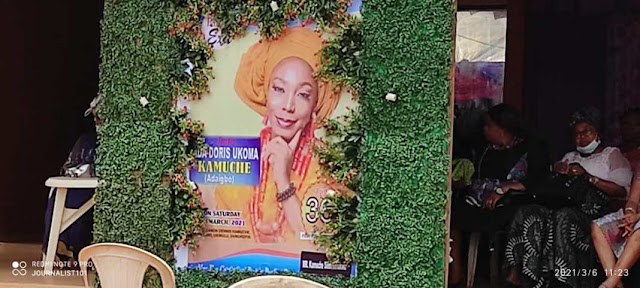 Nigerian Blogger, Doris Kamuche  has been laid to rest (Pictures)