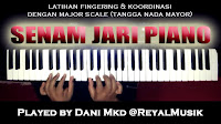 Latihan Dasar Piano Keyboard
