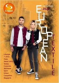 Catalogue European Textile 2020 avec tarifs HT