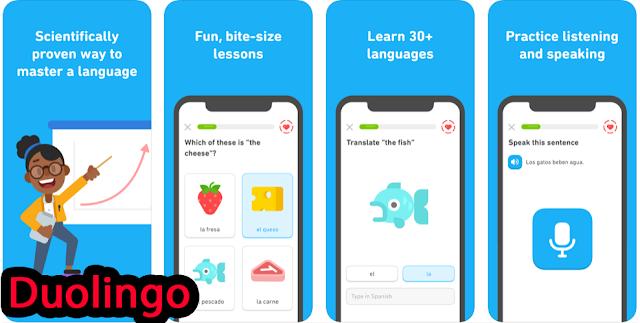 تطبيق Duolingo المجاني لتعلم اللغة الإنجليزية في أي وقت وفي أي مكان على هاتفك