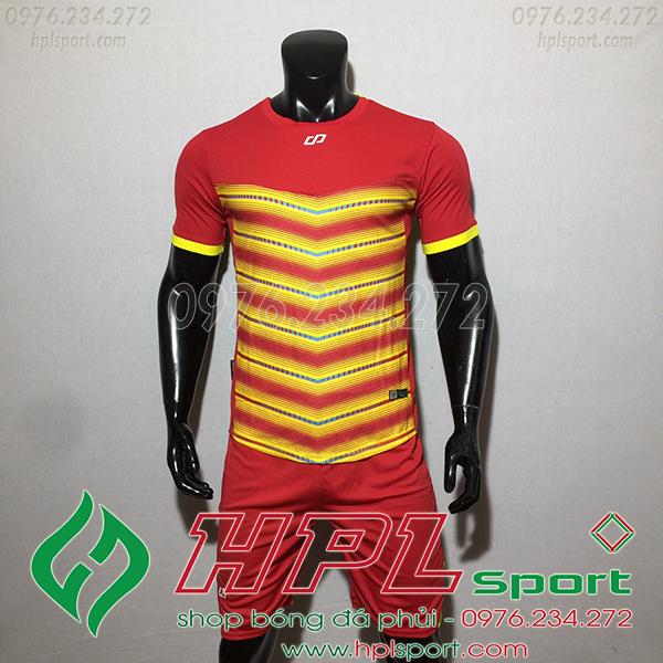 Áo ko logo CP LEG màu đỏ