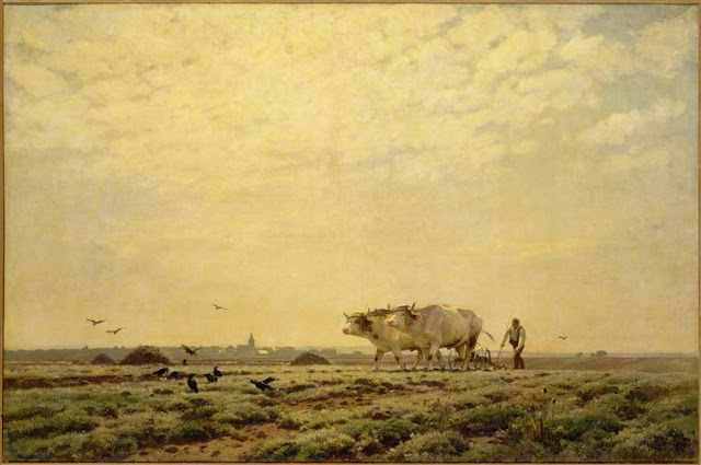 Les premiers sillons Zuber Musée d'Orsay