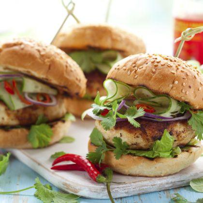 Turkey Burgers Plus Recipe