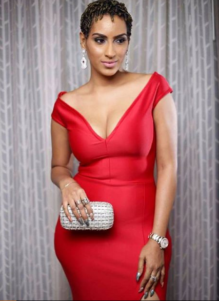 Juliet Ibrahim's red hot look to the CAF 2027 Awards