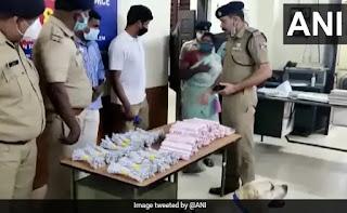 केरल में ट्रेन यात्री से बरामद हुईं 100 जिलेटिन स्टिक, 350 डेटोनेटर