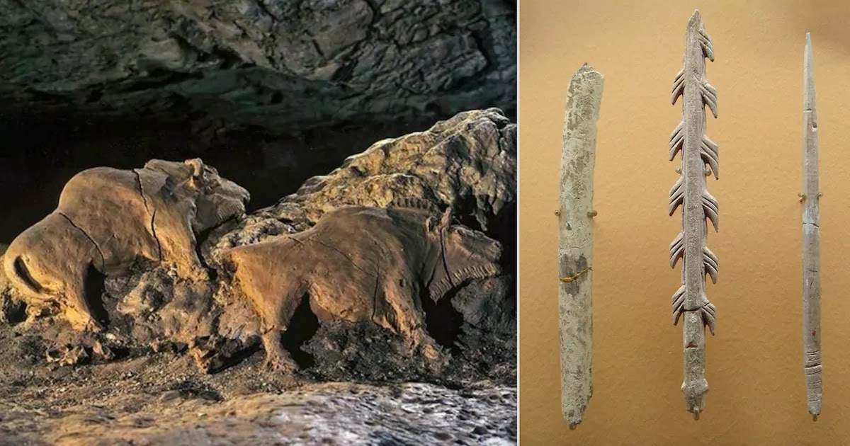15,000-Year-Old Perfectly Preserved Bison Sculpture Found In Cave In France