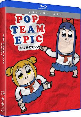 Pop Team Epic Season 1 Bluray
