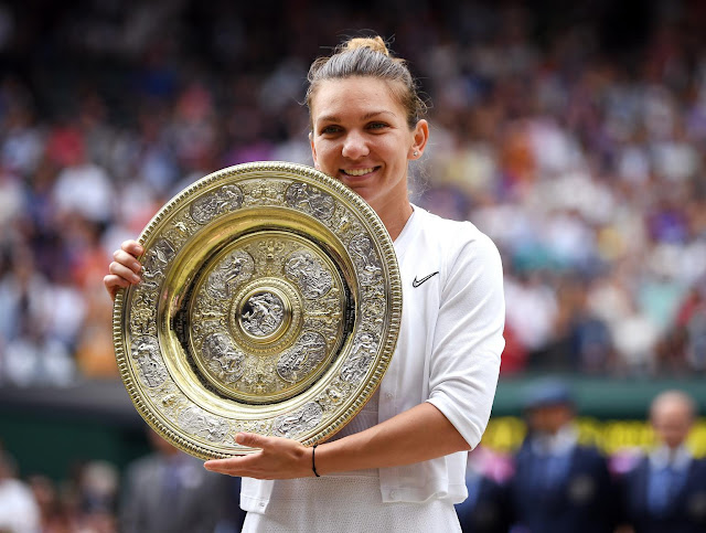 Halep shatters Serena Williams bid for 24th Grand Slam title