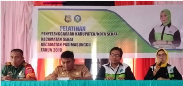 Healthy Forum Provides Coaching in 5 Selayar Islands Sub-Districts