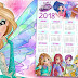 World of Winx - Le calendrier 2018