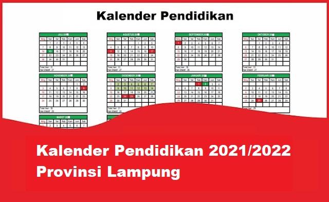 kalender pendidikan lampung