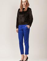 Pantaloni conici simpli (Moja)
