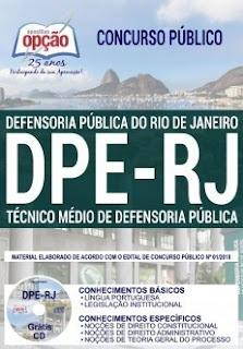 Download Apostila Concurso DPE RJ 2019 PDF