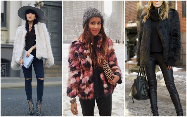 how to wear a fur