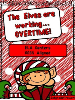The Elves are Working OVERTIME from TpT 1stgradefireworks
