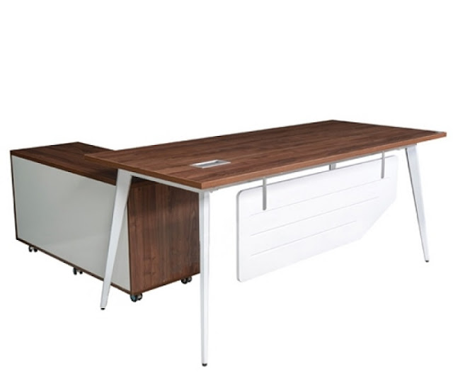 Mẫu bàn gỗ chân sắt